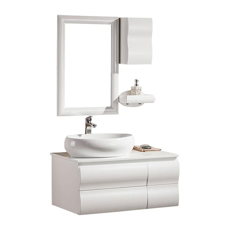 High Gloss Bathroom Basin Cabinet Vanity,Small Modern Bathroom Vanity