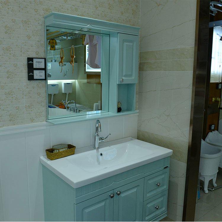 European Modern Waterproof Bathroom Mirror Vanity Cabinet,Bathroom Cabinet Corner Unit