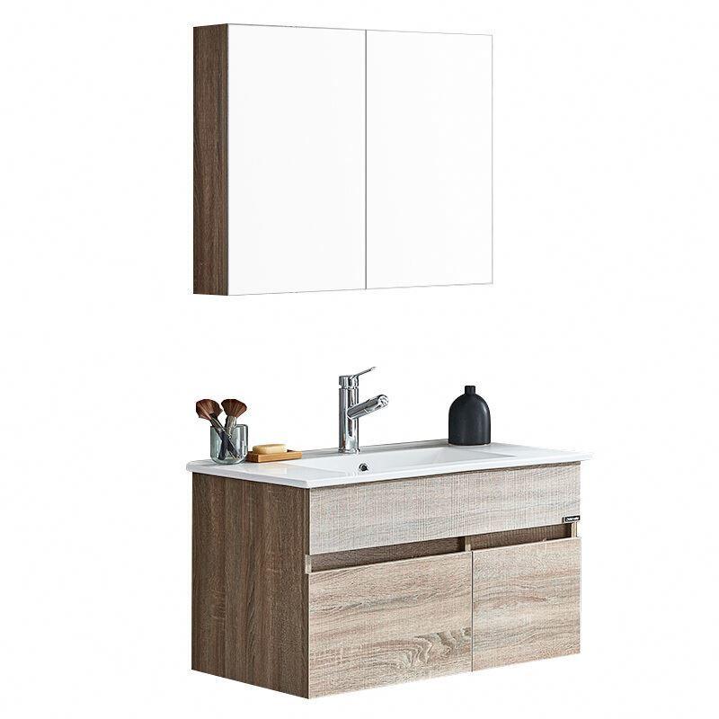 Morder New Design Wood Bathroom Mirror Vanity Cabinet