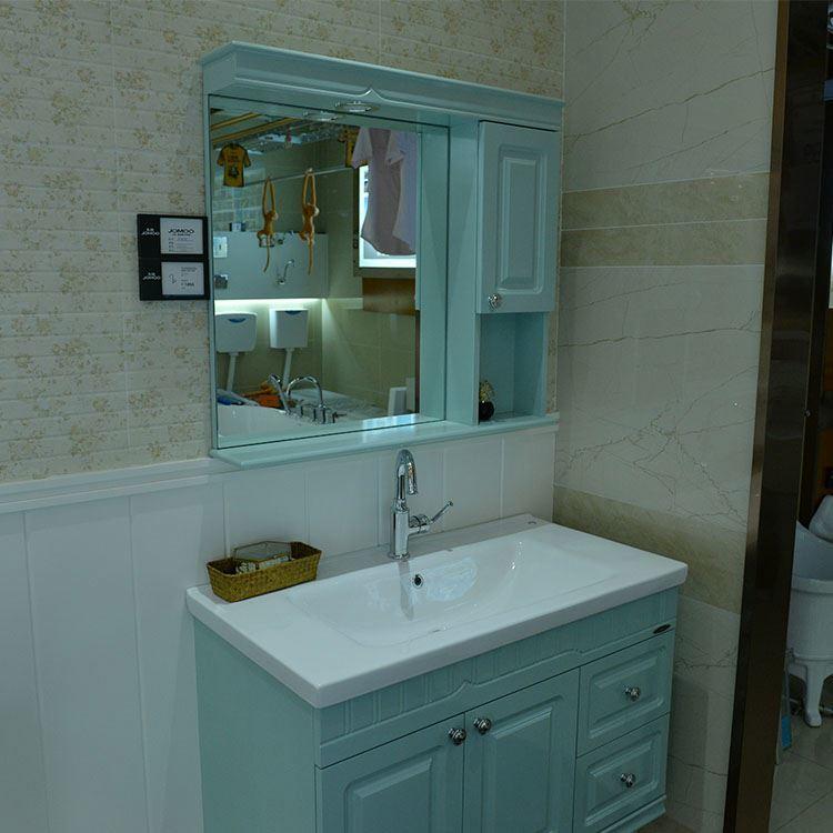 Particle board Floor Mounted Bathroom Cabinet Stand Sink,Vanity Set Bathroom