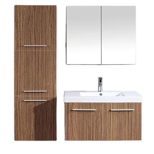 MDF bathroom mirror cabinet cheap bathroom vanity
