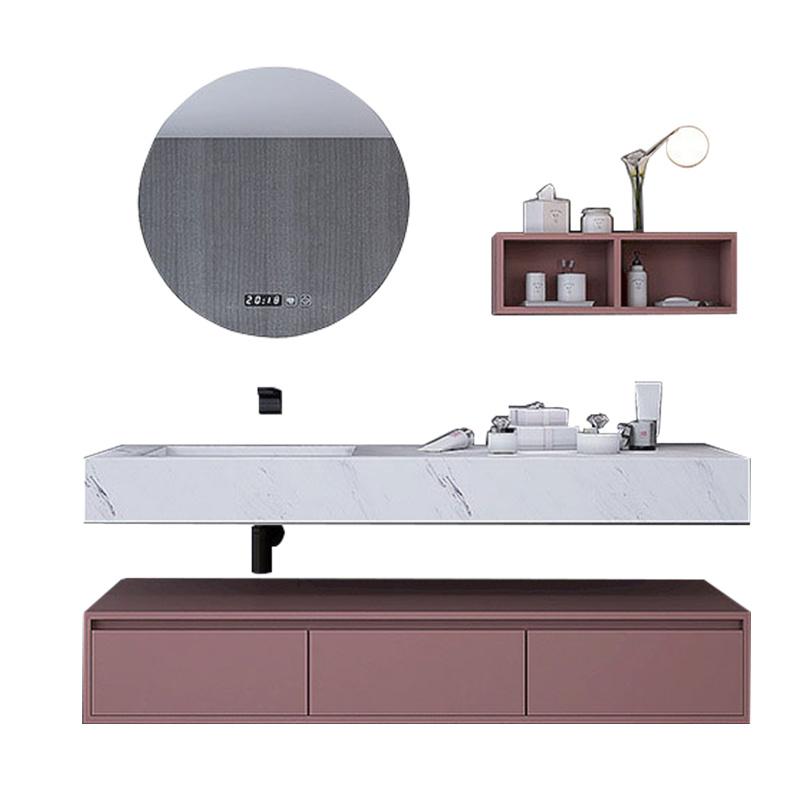 Slate one basin wash basin bathroom vanity sink simple modern toilet washbasin cabinet combination