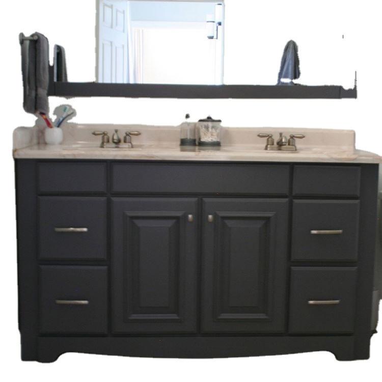 Solid Wood Commercial Clearance Bathroom Vanities