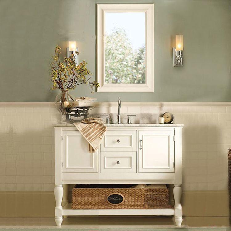 High End Double Sinks Home Bathroom Vanity CabinetSets