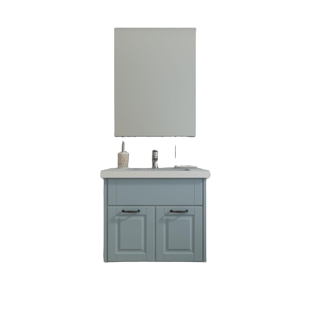 Small apartment walnut bathroom vanit cabinet combination washbasin modern minimalist washbasinwall hanging cabinet