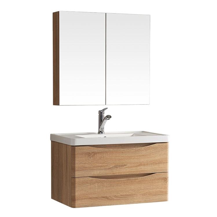 Hotel apartment modern bathroom vanity sink cabinet wash basin
