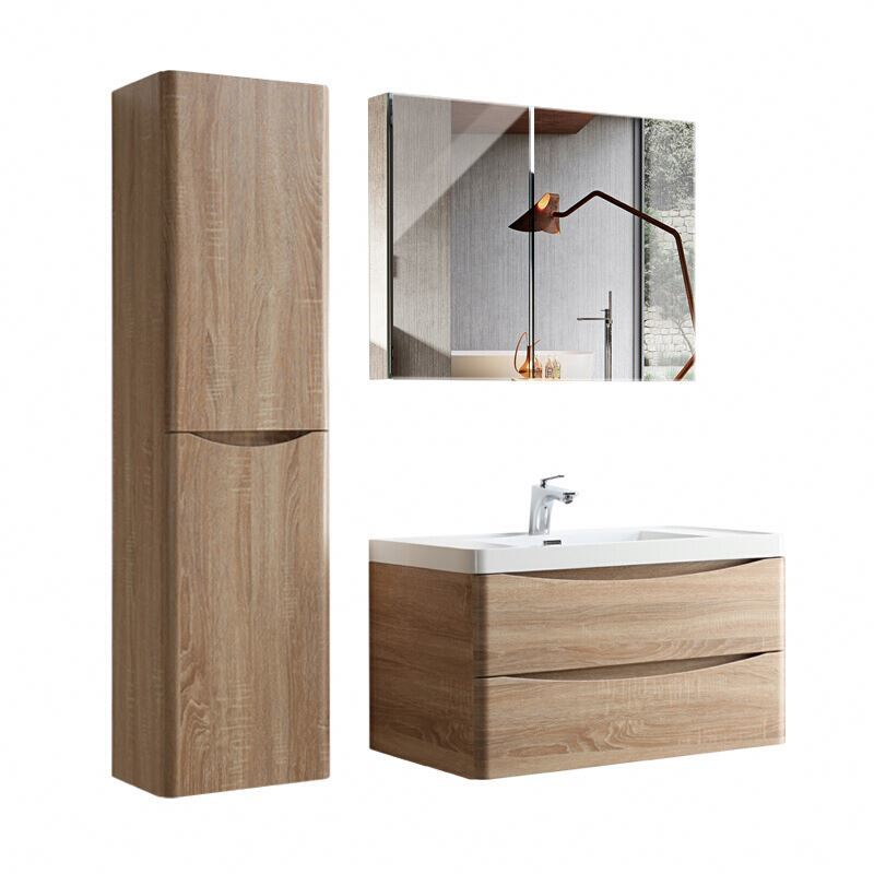 Custom Cheap Bathroom Vanity Sets Cabinet With Mirror Cabinet