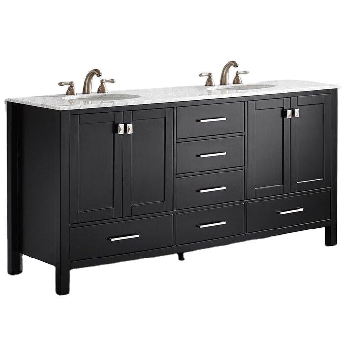 American Style Solid Wood Vanitiesmanufacturer Direct Sale Acrylic Bathroom Cabinet