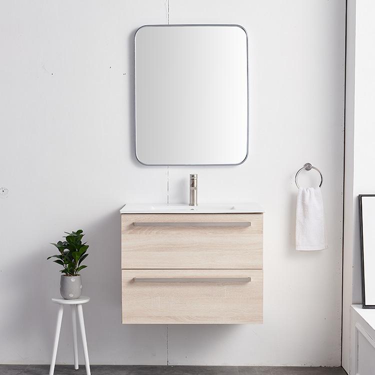 Solid Wood Bathroom Vanity Mirror Cabinet Designs