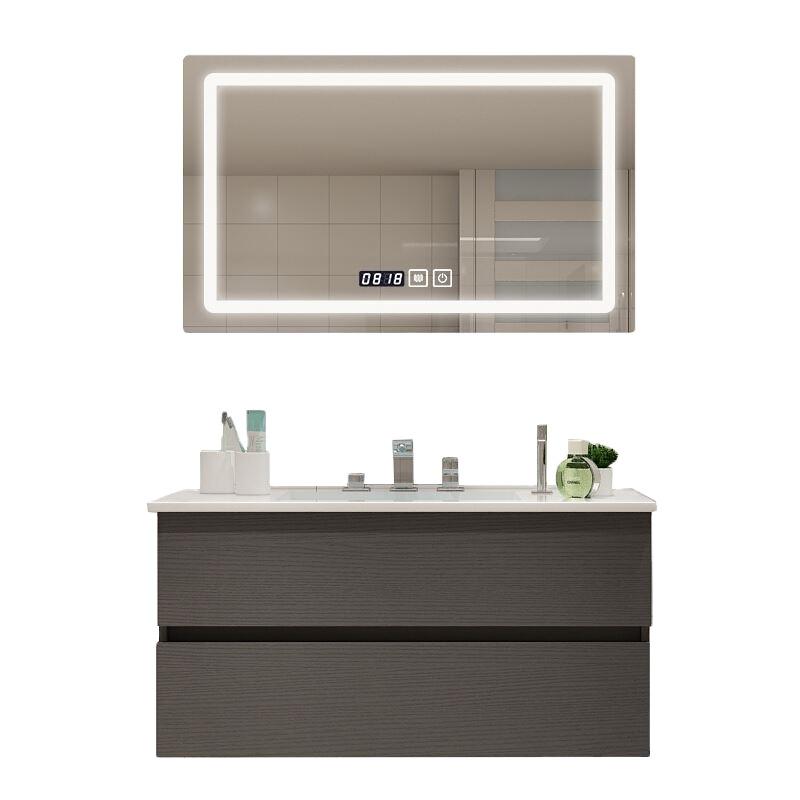 2020 High Quality Custom Bathroom Cabinet Solid Wood Luxury Wall Bathroom Cabinet
