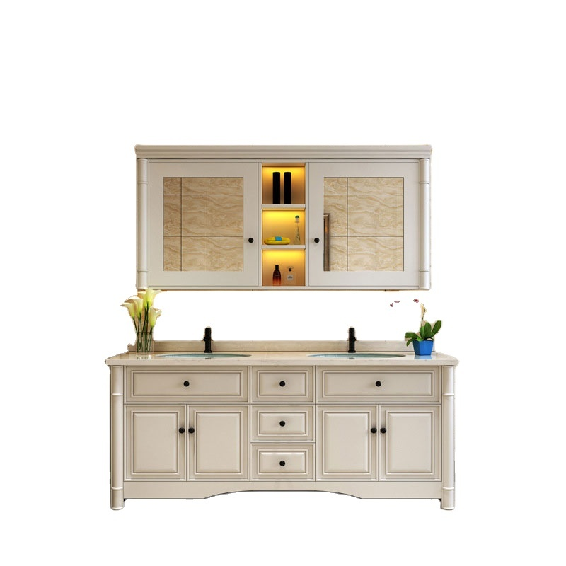 Professional Supply High End Hot Sale New Design Bathroom Vanity Furniture With Mirror