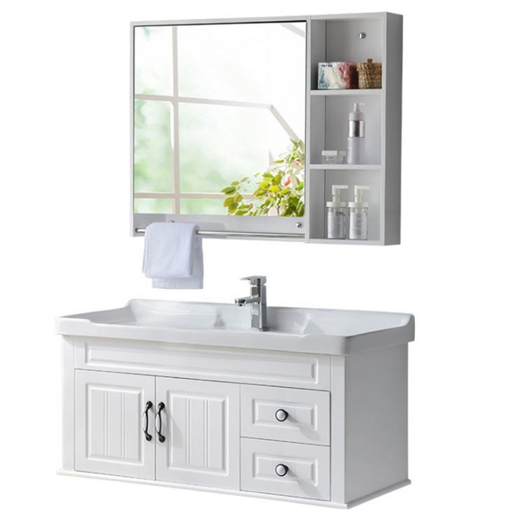 Classic Solid Wood Bathroom Furniture Vanity Cabinets Bathroom