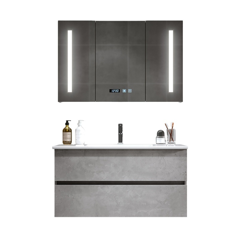 Nordic bathroom vanity modern minimalist bathroom washstand wall cabinet washbasin cabinet combination