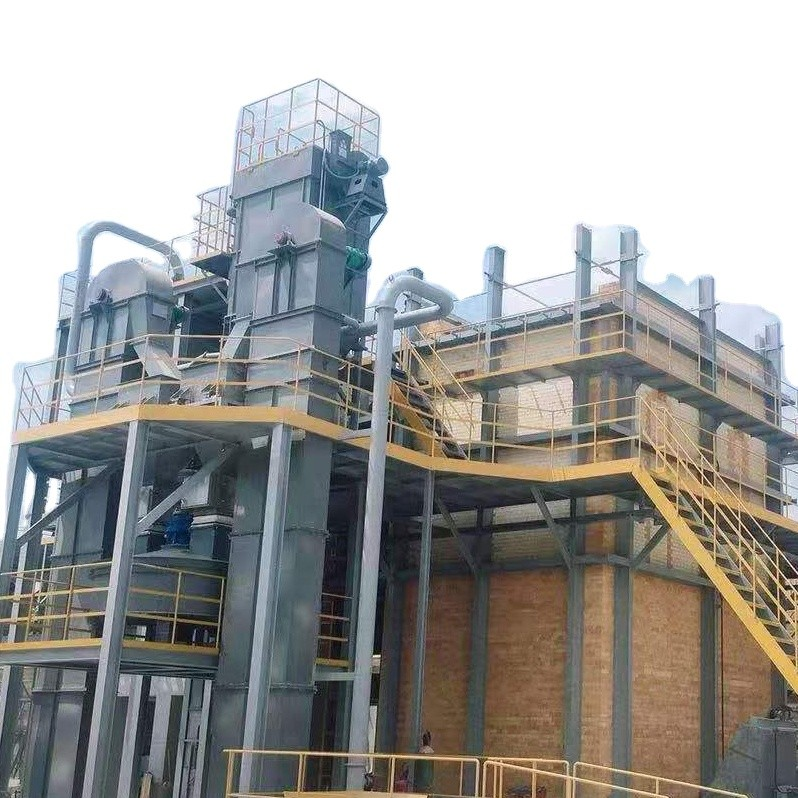 Turnkey Project Liquid Sodium Silicate Plant / Liquid Water Glass Solution Machinery / Solid Sodium Silicate Making Machine