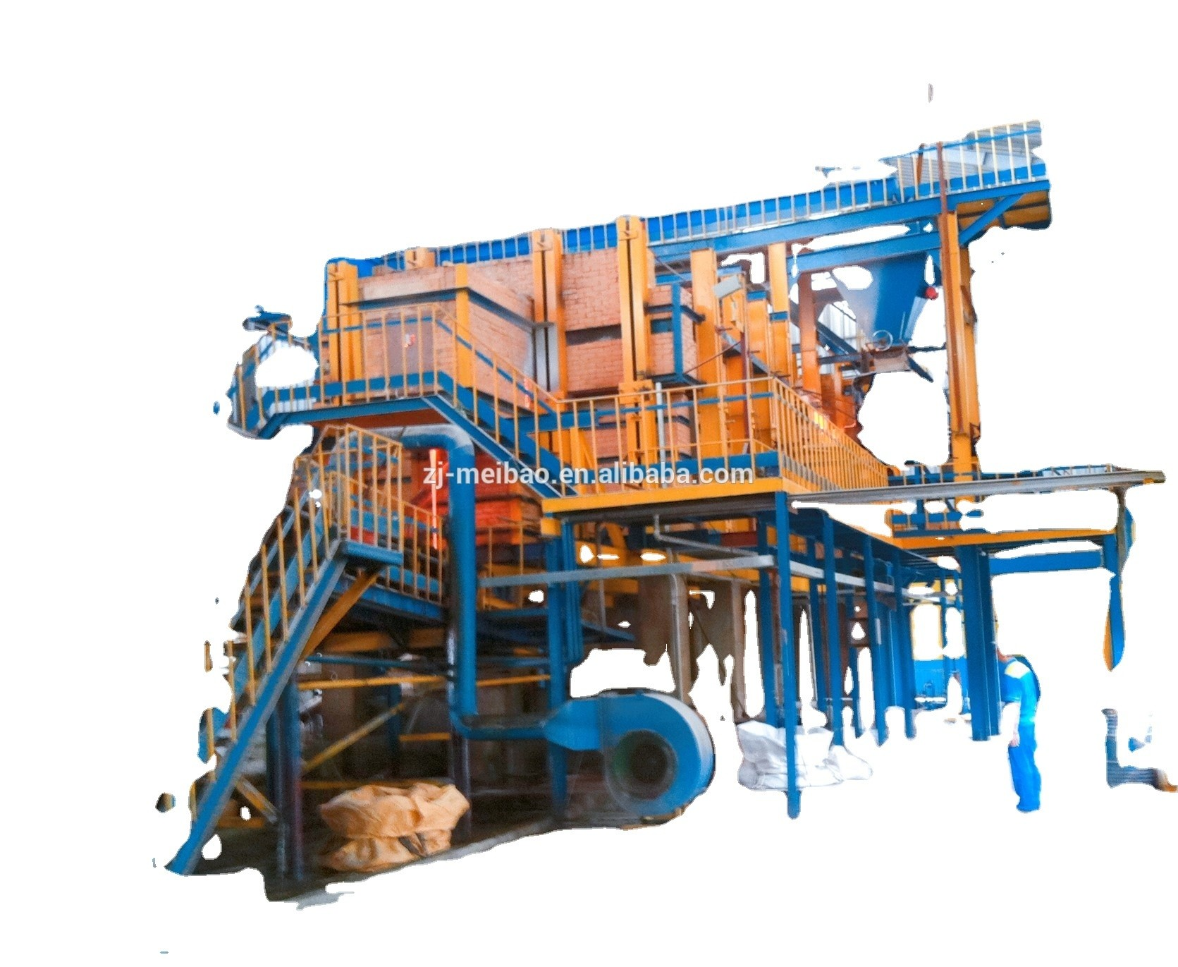 Regenerative chamber solid sodium silicate production line,water glass plant,
