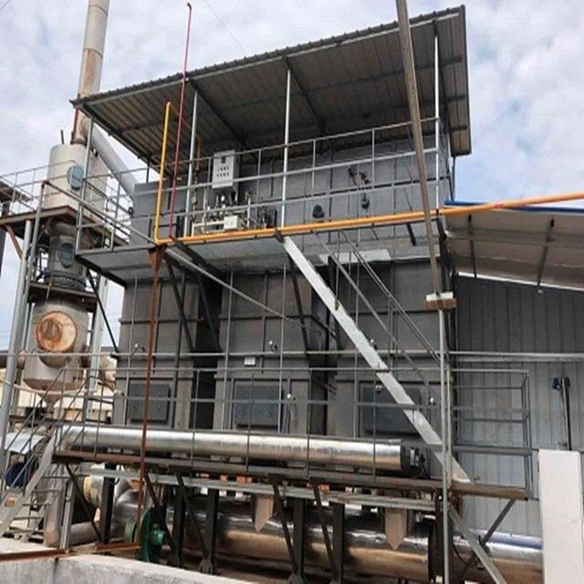 The regenerative thermal oxidation furnace/ Sodium silicate plant/