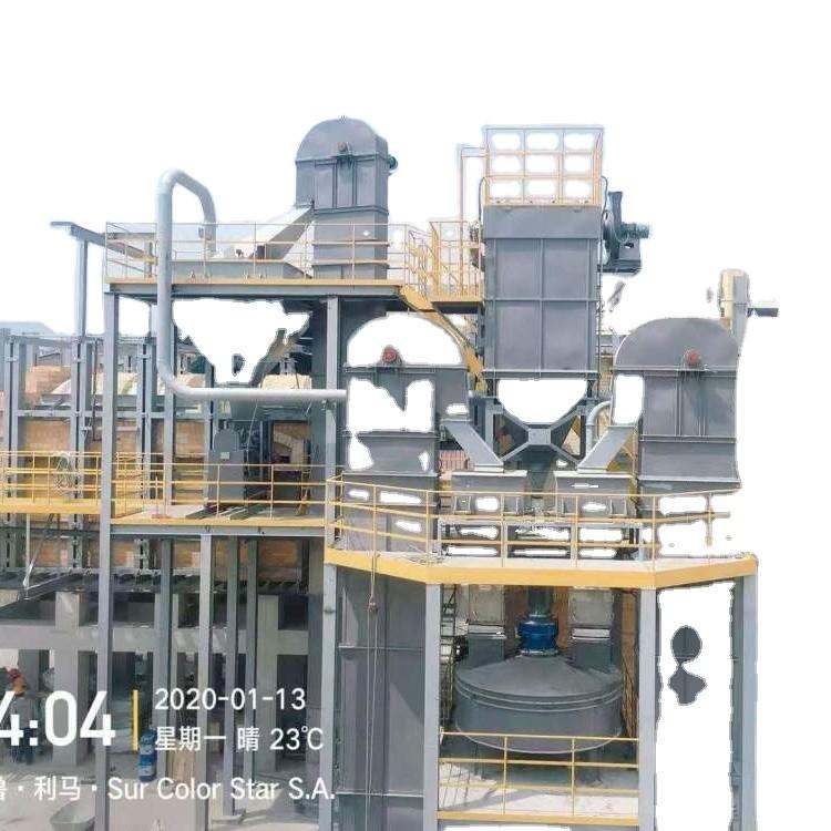 Industrial sodium silicate plant / Sodium silicate furnace / Solid sodium silicate production equipment