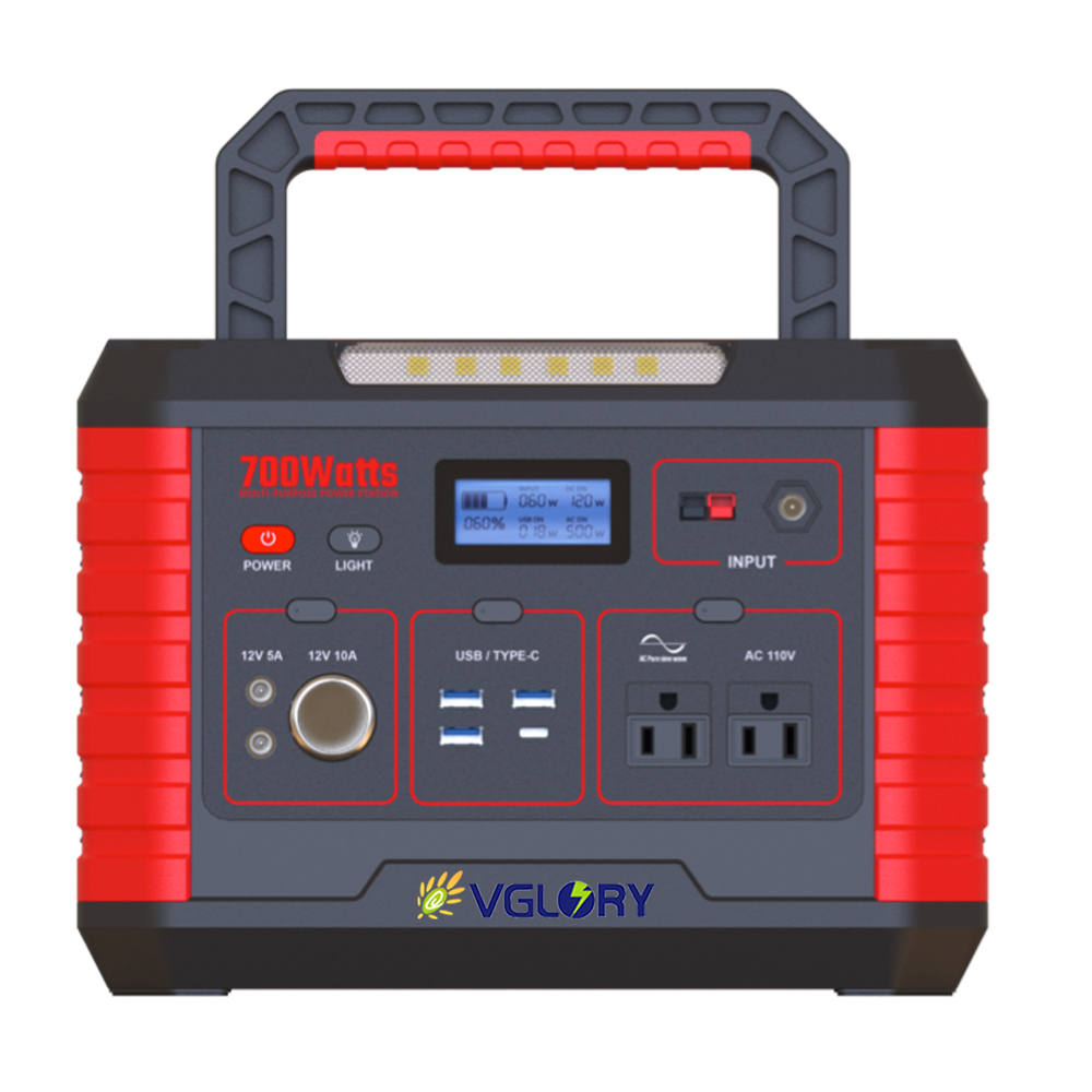 high density ac dc 110v 220v portable outdoor off grid solar power bank station supply system