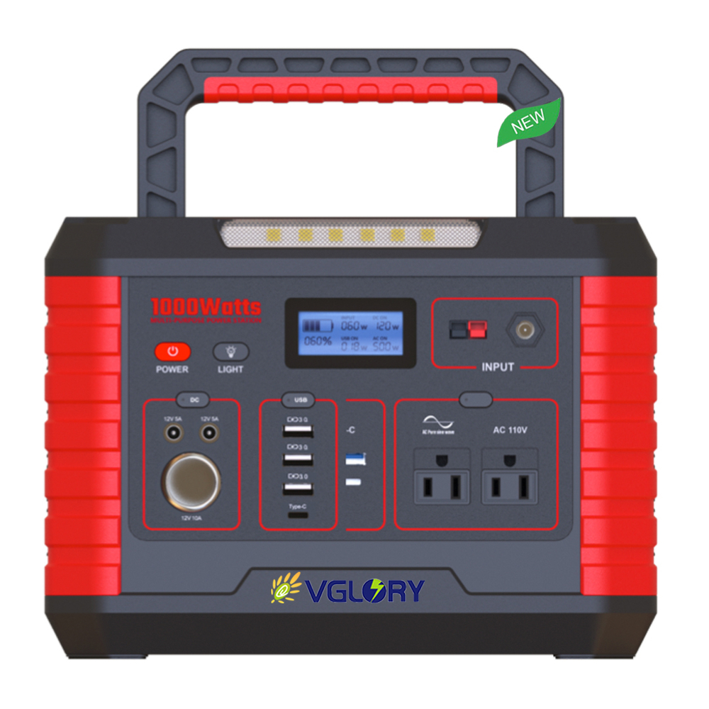Outdoor sports Widely applied portable backup power supply 500W 1000w