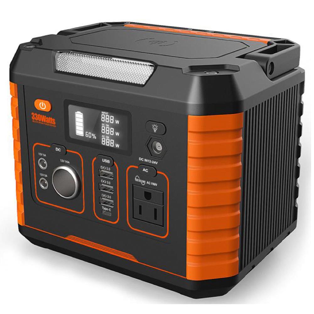 Multi function home laptop 5v 9v 12v 110v 220v 500w portable lithium power station generator solar