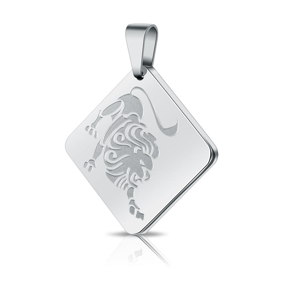 Wholesale personalized stainless steel custom engraved pendant