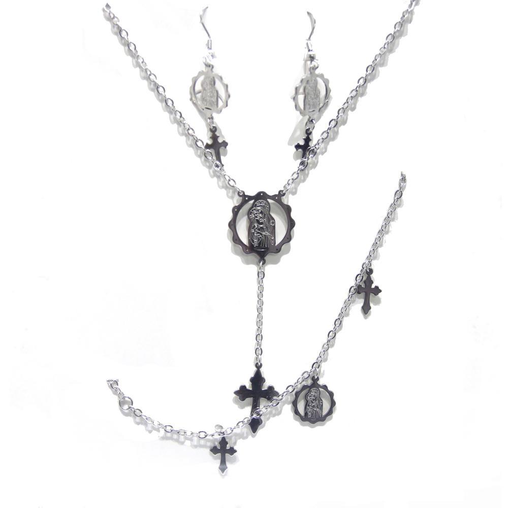 Fancy jesus crucifix design christian religious jewelry