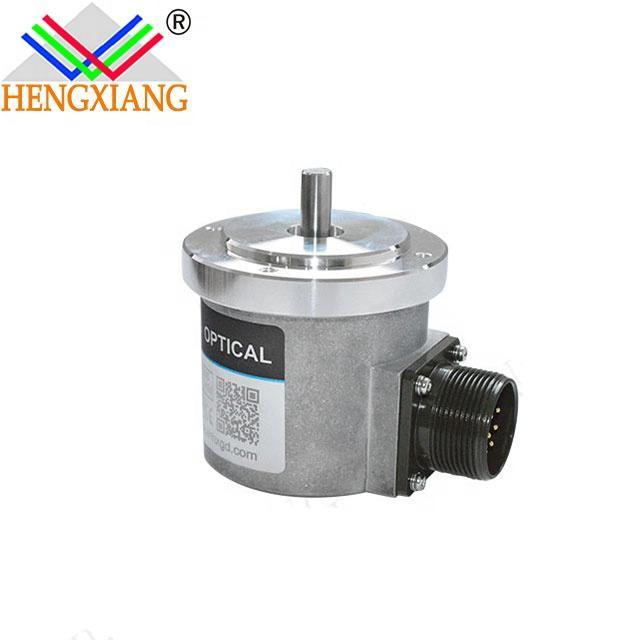 hengxiang rotary encoder S70 Length Measurement Encoder Incremental Solid Shaft LF push pull circuit DC12V