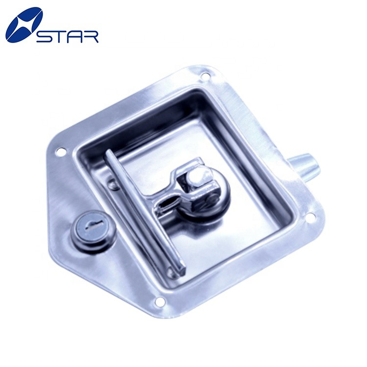 Truck and Tralier Bodies Parts Tool box Recessed Paddle Lock Latch