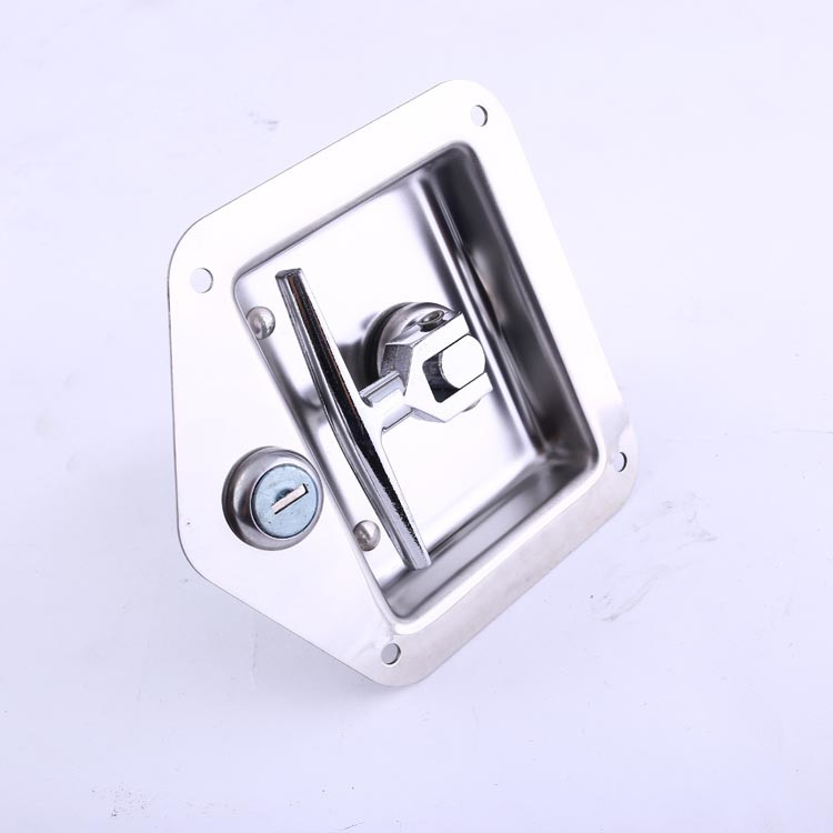 steel paddle truck door latch lock