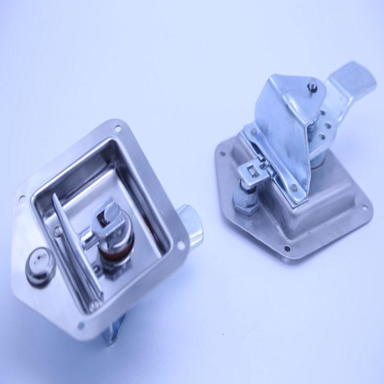120.9*124MM Flush Slam Latch/Container door locks --012001