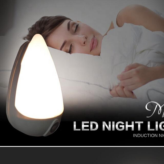 A68 OEM sensor plug in led water drop ABS material lamp night light for bed room