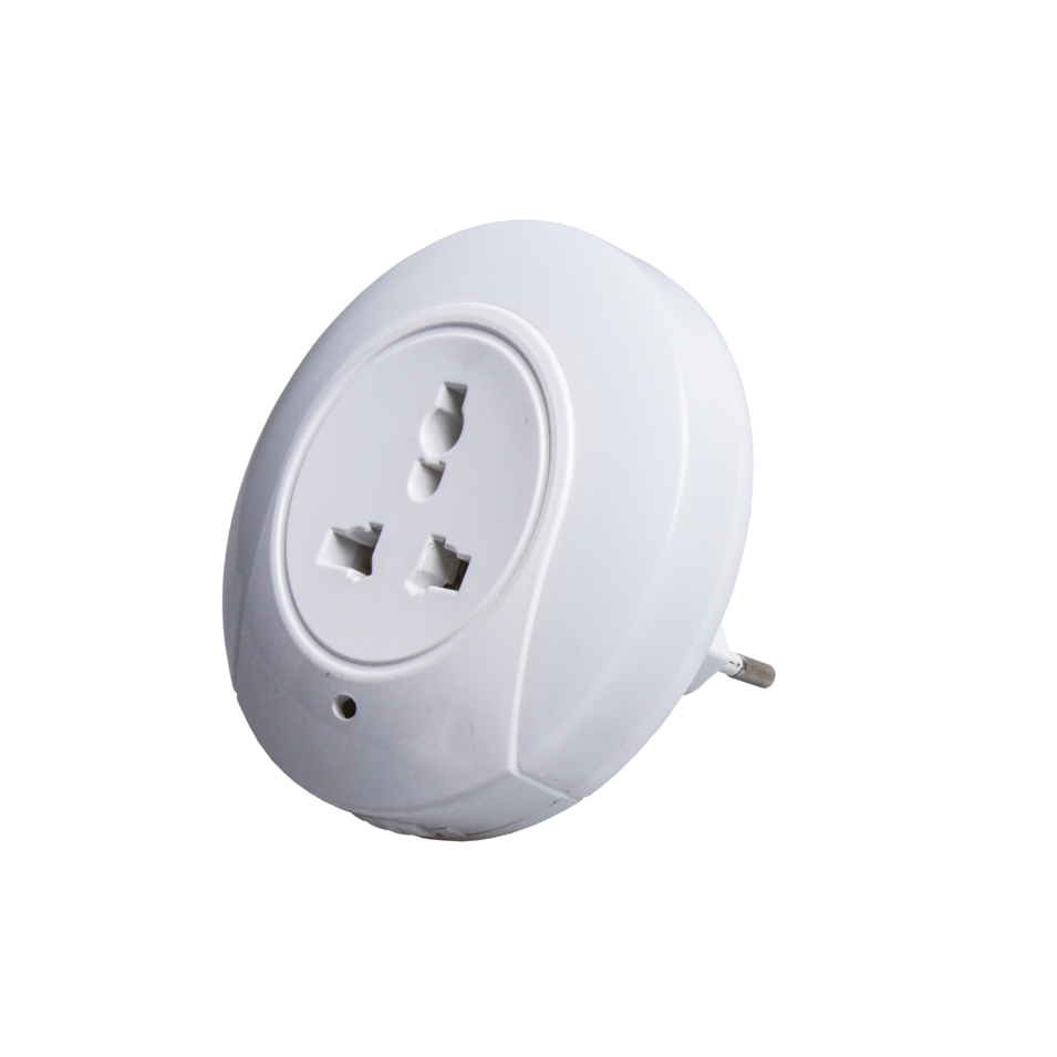 OEM A78C BEST SALE SENSOR PLUG IN NIGHT LIGHT 5V 2A WALL CHARGER LAMP LEDWITH BS SOCKET DUSK TO DAWN