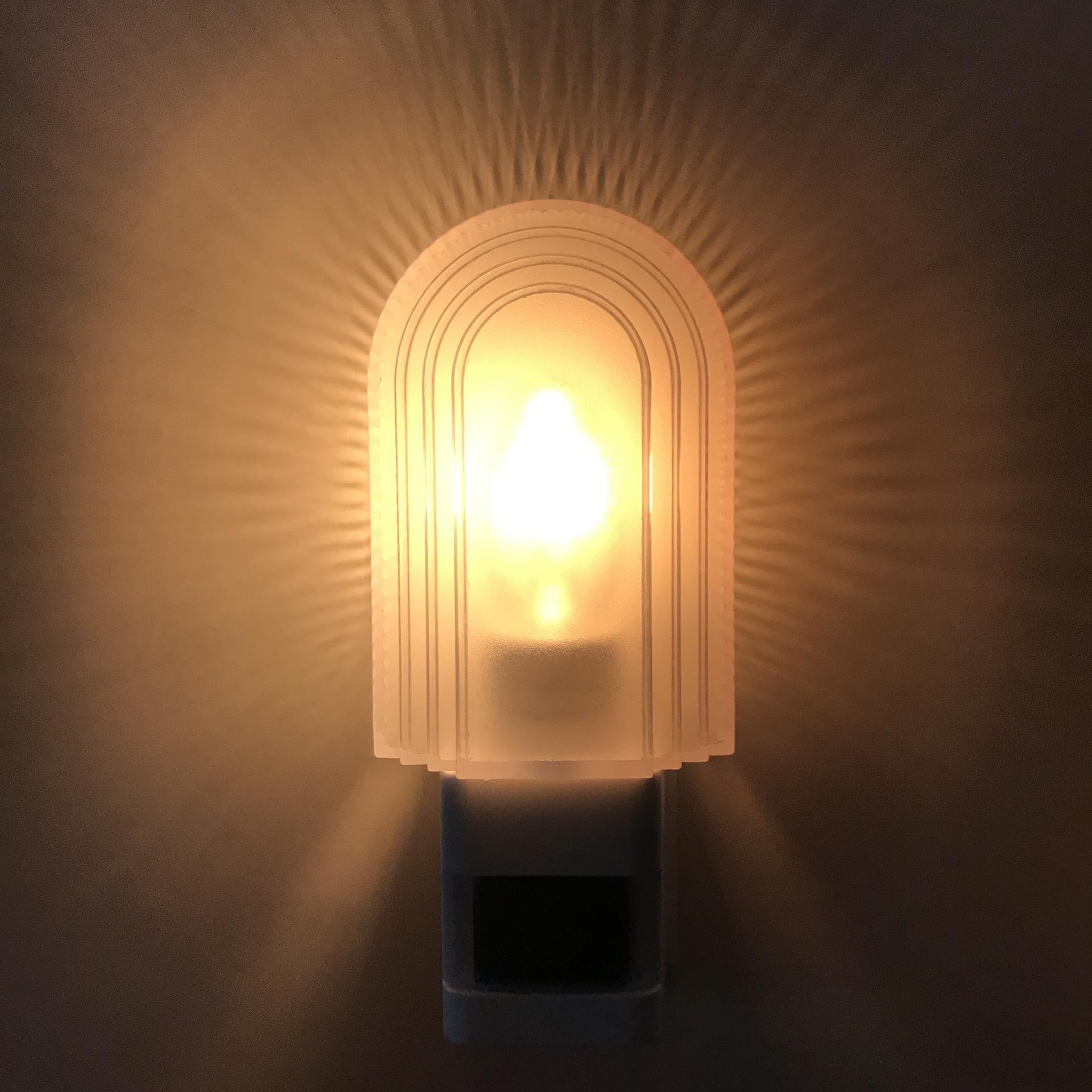 OEM A38 incandescent Bulb 240V Hot salesensor Night LightEU PLUG Lamp