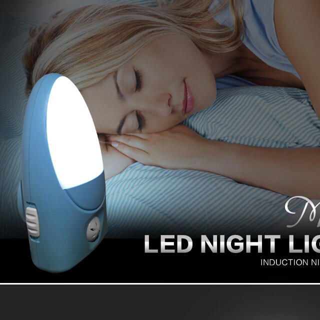 A74 EMC LVD ROHs SAA smart sensors led plug in wall lamp with on off baby kids night light for indoor