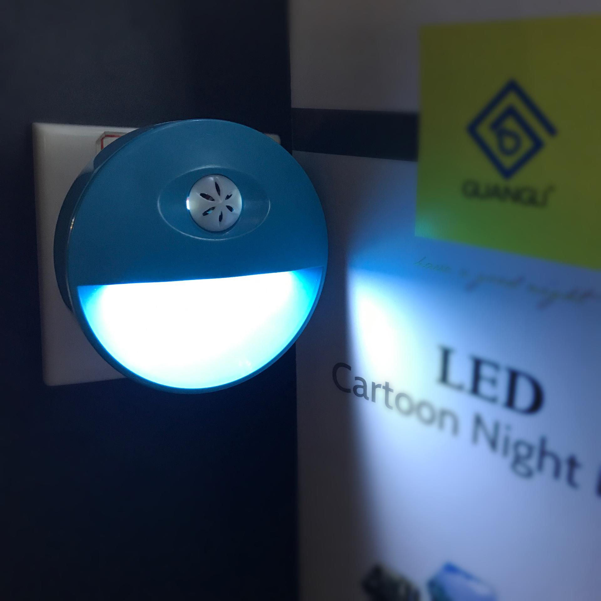 A84 OEM LED with Auto Sensor ABS material wall lamp Night Light for kids bedroom hallway