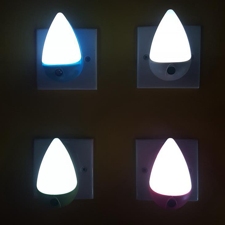 A68 sensor plug inled water drop ABS lamp night light