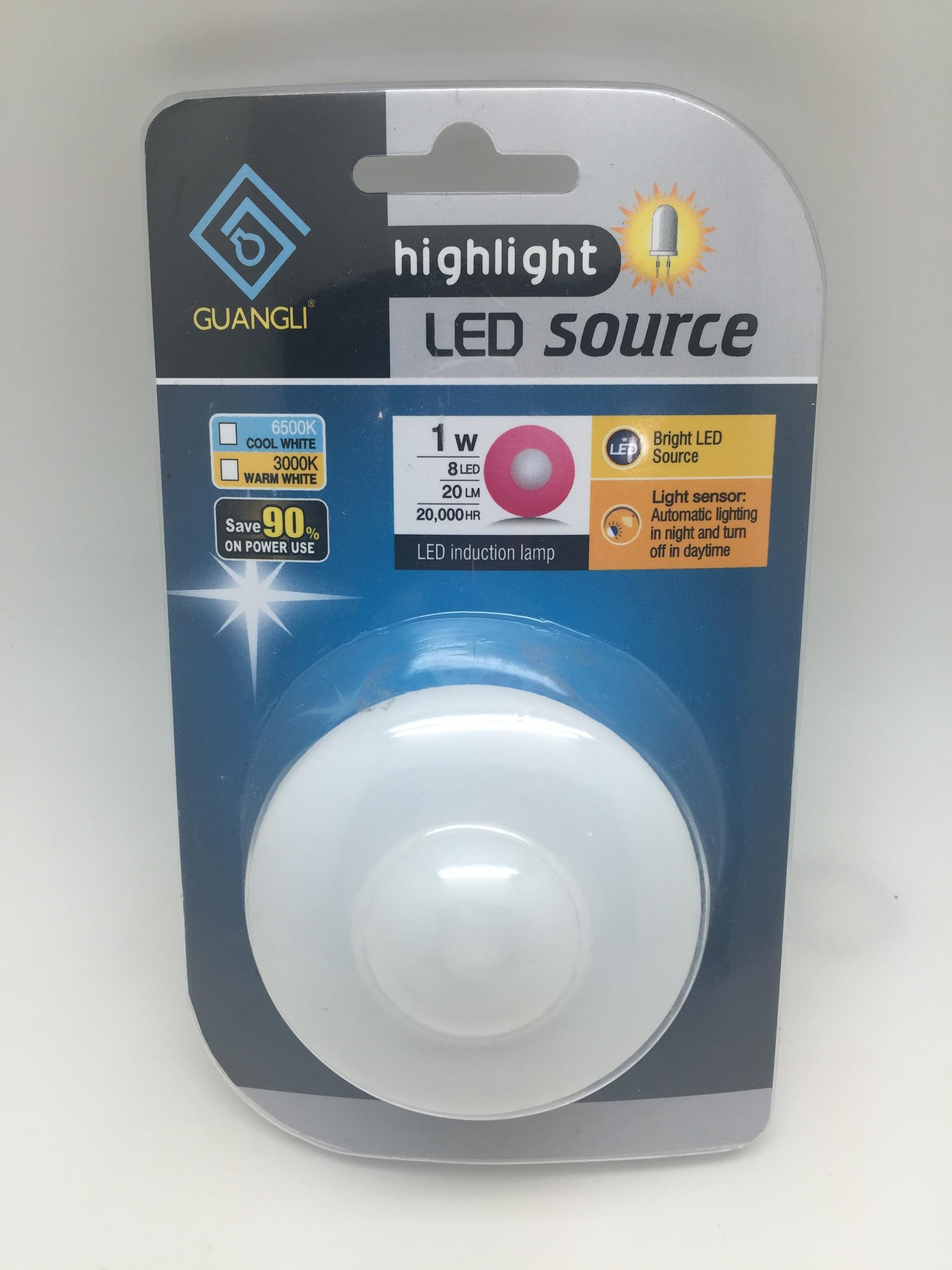 A54 CE ROHS BS 220 240V led sensor night light plug in baby kids nursery decoration for bedroom