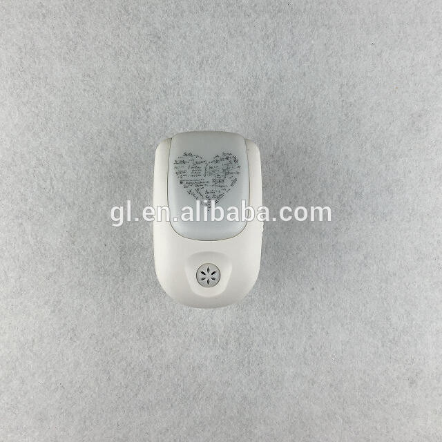 A72CE ROHS AUTOMATIC on off Switch Sensor LED baby kids plug in Night Light lamp for bedroom