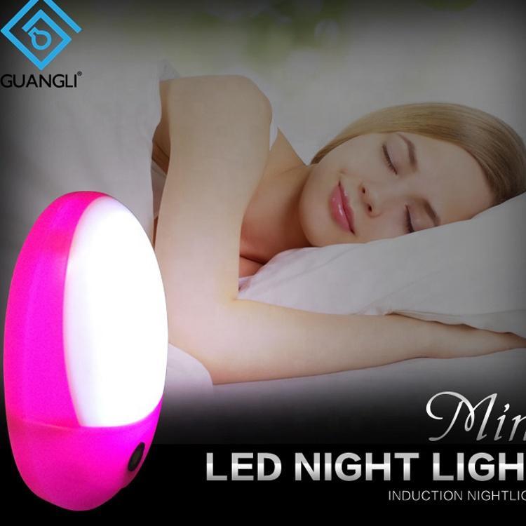 A58 sensor BS EU SAA plug inLED mini Dusk to Dawn night light for bedroom