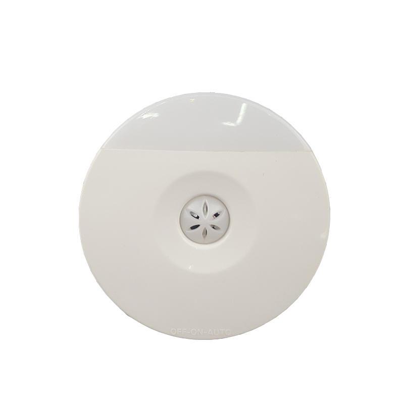 A82 CE ROHS BS Wall LED plug in Night Light Auto Sensor Control Lamp Bedroom hallway Light