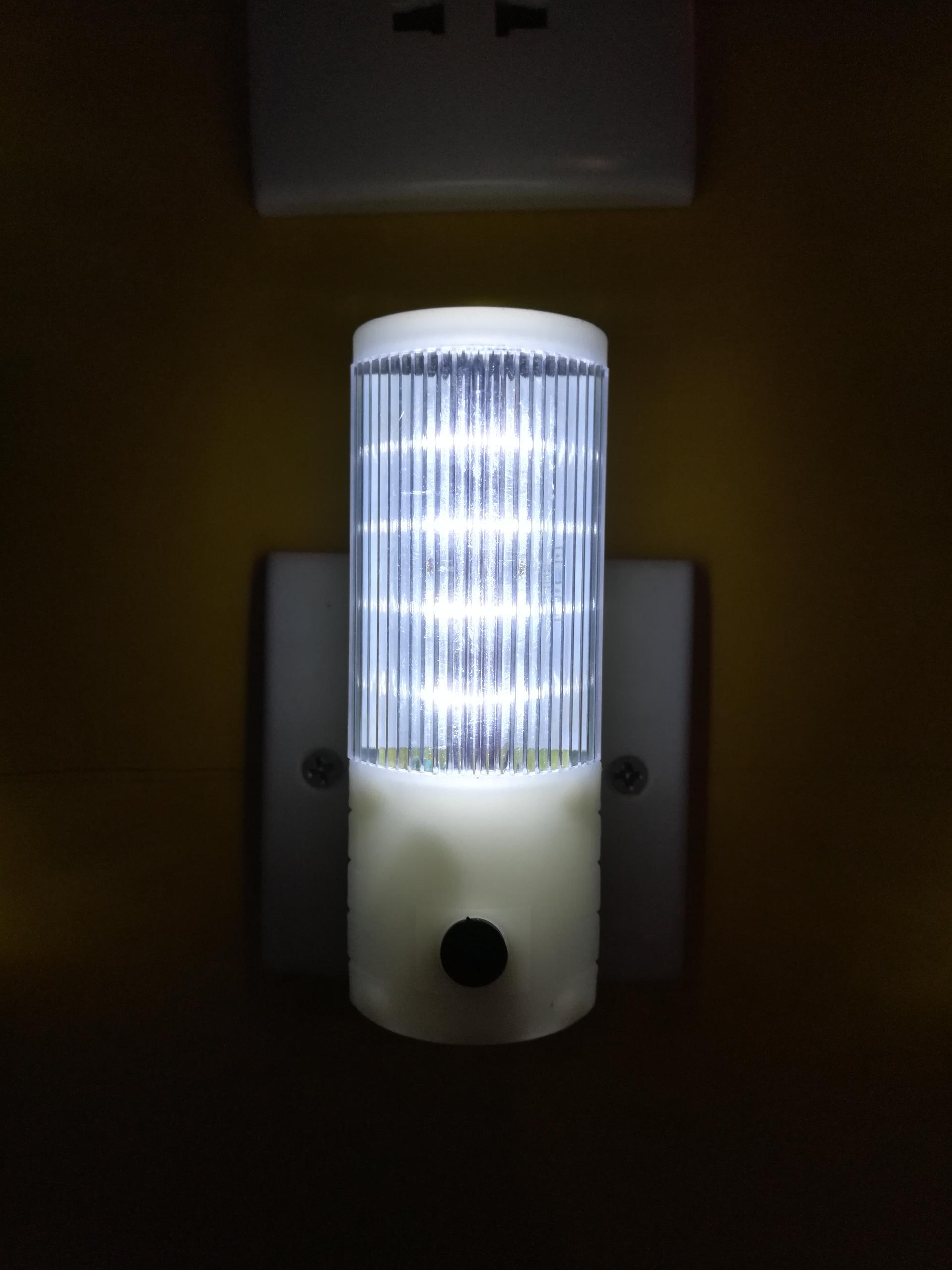 A106 OEM mini sensor control plug in ABS material nightlight lamp for bedroom