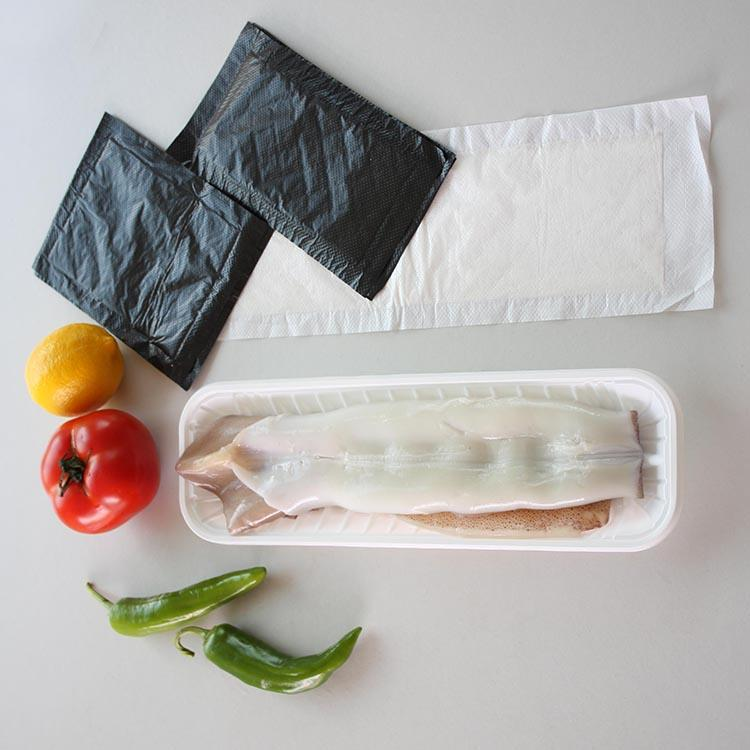 Absorb Excess Blood Fish Pad Absorbent Meat Pad