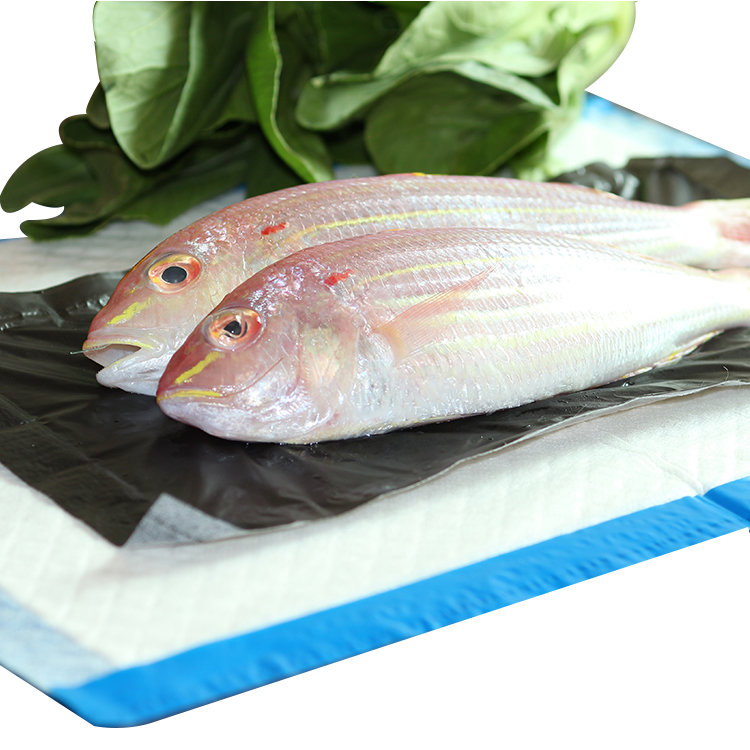 Non-woven Fabric Biodegradable Moisture Water Absorbent Fish Seafood Pads