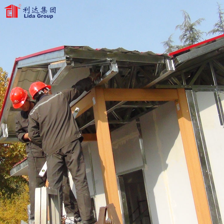 China long service life tiny homes prefabricated houses for South Africa