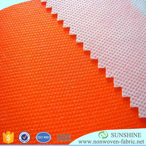 Sunshine pp spunbond Nonwoven Factory, telas no tejidas, 70GSM PP no tejidos