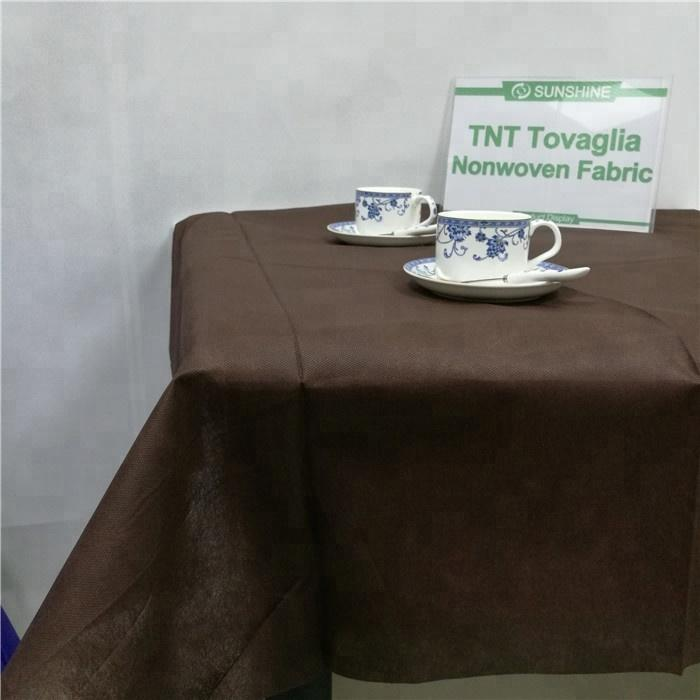 Good quality nonwoven fabric PP spunbond table cover tablecloth