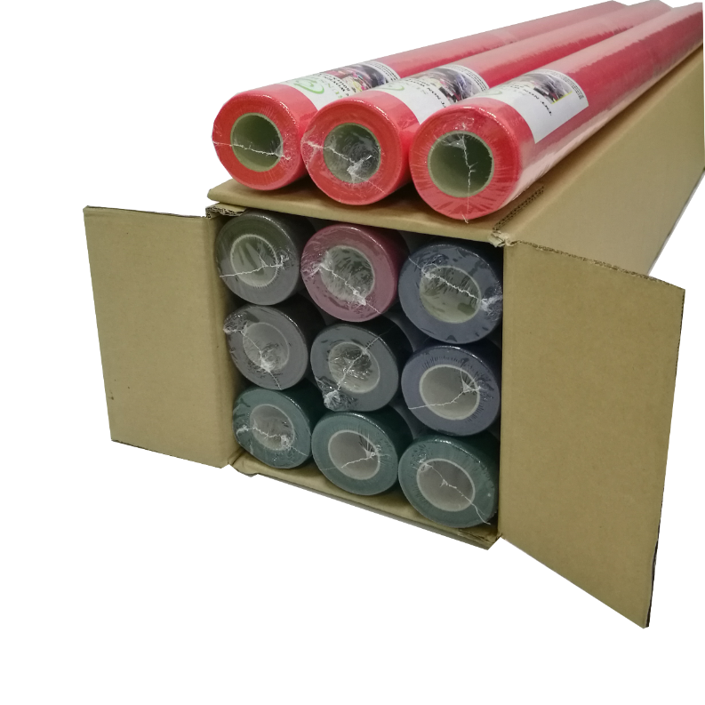 TNT nonwoven fabric table clothes in roll manufacturer supplier