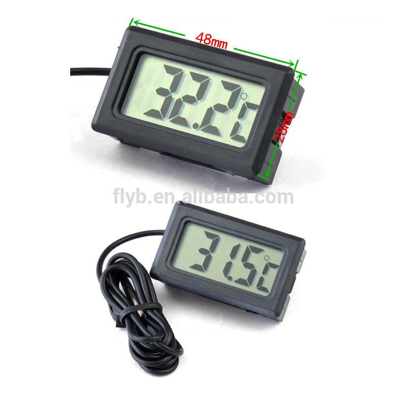 TPM-10 room temperature mini fish bowl used digital aquarium thermometer