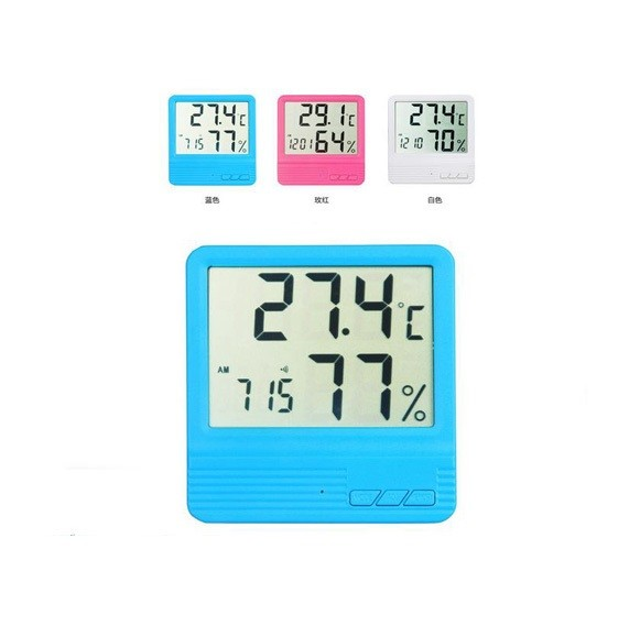 Electronic Home Indoor Digital Temperature and Humidity Meter