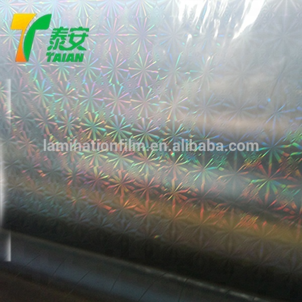 Rainbow Holographic Film Free Sample Laser Transparencyfor Packaging